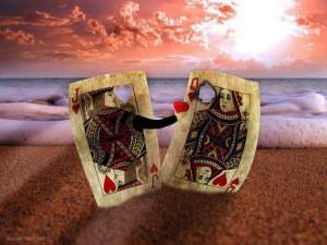 card hearts